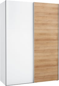 MARRON Armoire à portes coulissantes 402898500000 Dimensions L: 150.0 cm x P: 68.0 cm x H: 216.0 cm Couleur Blanc Photo no. 1