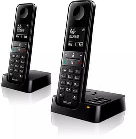D4752B Schwarz Duo Festnetz Telefon Philips 785300156718 Bild Nr. 1