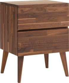 CARA Table de chevet 404575985131 Dimensions L: 45.0 cm x P: 37.0 cm x H: 60.0 cm Couleur Noyer Photo no. 1
