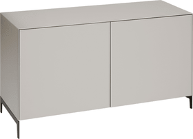 LUX Commode 400825800000 Dimensions L: 120.0 cm x P: 46.0 cm x H: 66.5 cm Couleur Gris taupe Photo no. 1