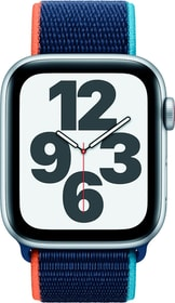 Watch SE LTE 44mm Silver Aluminium Deep Navy Sport Loop Smartwatch Apple 785300155520 Bild Nr. 1