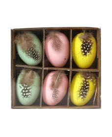 uova di pasqua, 6 pzz 667012000000 N. figura 1