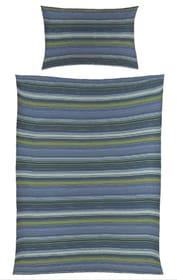 KAY Garnitura da letto in raso 451249014440 Colore Blu Dimensioni L: 160.0 cm x A: 210.0 cm N. figura 1