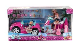 Steffi Love Beachcar and Scooter Set with 2 Dolls Ensemble de poupée 747951500000 Photo no. 1