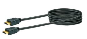 Cable HDMI Highspeed 1.5m noir Schwaiger 613182100000 Photo no. 1
