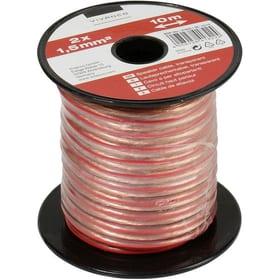 Câble audio, câble haut-parleur, transparent 2x 1,5 mm², 10,0 m Câble audio Vivanco 770816900000 Photo no. 1