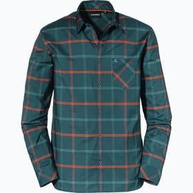 Ponta Verde Camicia da trekking Schöffel 465833304822 Taglie 48 Colore blu scuro N. figura 1