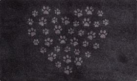 ADOLFO Fussmatte 412825804692 Farbe schwarz/grau Grösse B: 45.0 cm x T: 75.0 cm Grösse B: 45.0 cm x T: 75.0 cm Bild Nr. 1