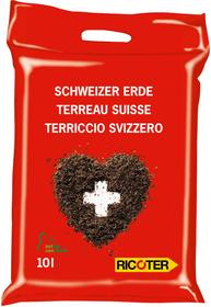 Terreau Suisse, 10 l Terreau universel Ricoter 658111900000 Photo no. 1