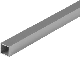 Vierkantrohr 1 x 15 x 15 mm silberfarben 1 m alfer 605021700000 Bild Nr. 1