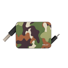 Roll-it Cavo Charge & SynchronisatMicro-USB verso USB Camo