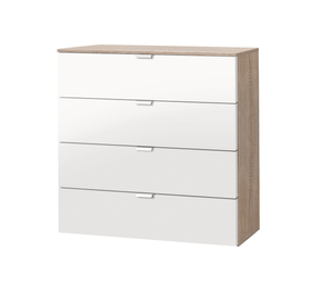 ORSON Commode 404481100000 Dimensions L: 80.0 cm x P: 42.0 cm x H: 80.0 cm Couleur Blanc Photo no. 1