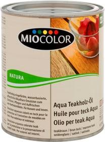 Aqua Teakholz-Öl Teak braun 750 ml Holzöle + Holzwachse Miocolor 661118500000 Bild Nr. 1