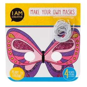 Kindermasken Girlie 12 Stk. I AM CREATIVE 666017700000 Bild Nr. 1