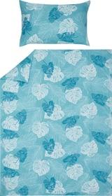 CHINO Taie d'oreiller microfibre 451318510640 Couleur Bleu Dimensions L: 65.0 cm x H: 65.0 cm Photo no. 1