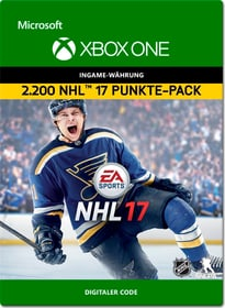 Xbox One - NHL 17 Ultimate Team: 2200 Points Download (ESD) 785300137929 Photo no. 1