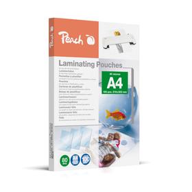 A4 80 micron pochettes des plastification Peach 791034800000 Photo no. 1