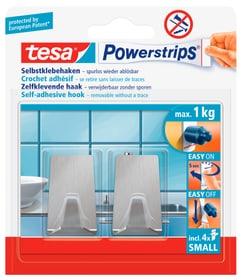 Powerstrips Metall-Haken small rechteckig Klebehaken Tesa 675274800000 Bild Nr. 1