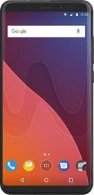 View (3+16GB) Dual SIM noir Smartphone Wiko 785300134321 Photo no. 1