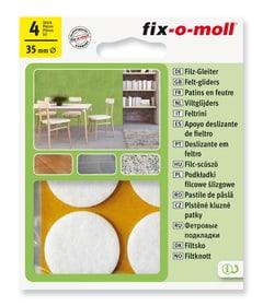 Filzgleiter 3 mm / Ø 35 mm 4 x Fix-O-Moll 607067900000 Bild Nr. 1