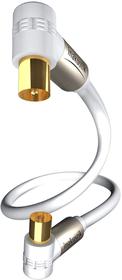 Premium Antennenkabel 90° (3m) TV/Radio Antennenkabel inakustik 785300143314 Bild Nr. 1