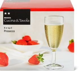 Verre de prosecco Cucina & Tavola 701122000001 Couleur Transparent Photo no. 1