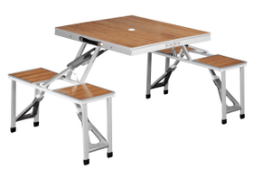 Dawson Picnic Table Camping-Tisch inkl. Stühle Outwell 491293700000 Bild-Nr. 1