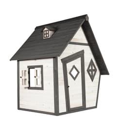 Casetta da gioco Cabin 647260400000 Taglio L: 126.0 cm x P: 133.0 cm x A: 155.0 cm Colore Grigio-Bianco N. figura 1