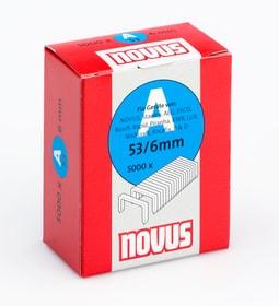 Graffe in filo fino A Typ 53/8 dure NOVUS 601256300000 Taglio 8 mm superhart / 5'000x N. figura 1