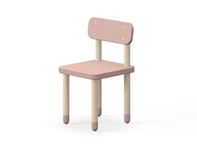 DOTS Chaise pour enfant Flexa 404764200000 Dimensions L: 33.4 cm x P: 32.9 cm x H: 54.1 cm Couleur Rose Photo no. 1
