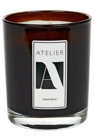ATELIER VELVET WOOD Bougie parfumée 440710700000 Photo no. 1