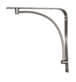 Console en acier inox poli