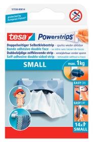 Powerstrips® SMALL weiss, 14 strips Klebebänder Tesa 663084200000 Bild Nr. 1