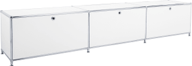 FLEXCUBE Buffet 401911100000 Dimensioni L: 228.0 cm x P: 40.0 cm x A: 43.0 cm Colore Bianco N. figura 1