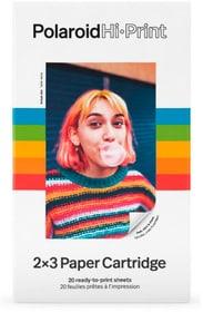 Film instantané Hi-Print 2x3 - 20 films instantanés Carta fotografica Polaroid 785300156489 N. figura 1