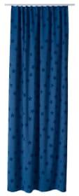 TEODORA Rideau opaque prêt à poser 430270821840 Couleur Bleu Dimensions L: 140.0 cm x H: 270.0 cm Photo no. 1