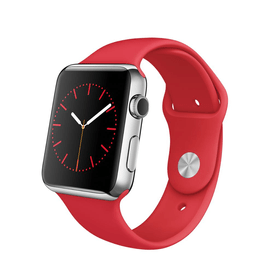 Watch, 42mm Stainless Steel Case with RED Sport Band Apple 79788330000015 Photo n°. 1