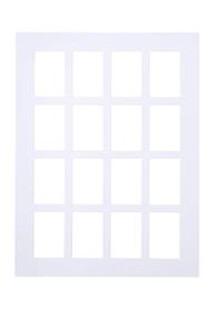 ANATOL Passe-partout 439005106010 Couleur Blanc Dimensions L: 60.0 cm x P: 0.1 cm x H: 80.0 cm Photo no. 1