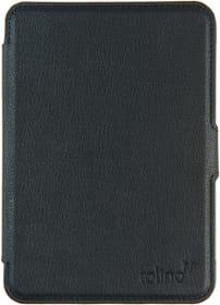 eReader Cover Slim Leder schwarz