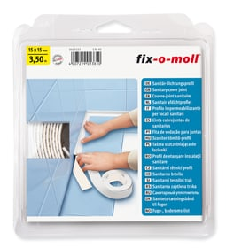 Couvre-Joint sanitaire 15x15mm x 3.5m