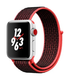 Watch Series 3 Nike+ GPS/LTE 38mm silver/bright crimson/black