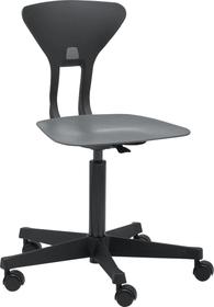 RAY Chaise de bureau Flexa 404689400080 Couleur Gris Dimensions L: 60.0 x P: 60.0 x H: 95.0 Photo no. 1