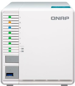NAS TS-351-2G, 3-bay 0 TB Network-Attached-Storage (NAS) Qnap 785300144830 N. figura 1