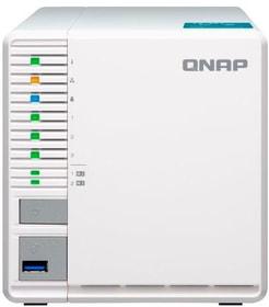 NAS TS-351-4G, 3-bay 0 TB Network-Attached-Storage (NAS) Qnap 785300144831 Photo no. 1