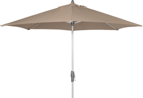 SHELL TURN Parasol Suncomfort by Glatz 408021600000 Dimensions H: 255.0 cm Couleur Gris taupe Photo no. 1