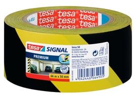 SIGNAL Premium Markierungsklebeband, schwarz/gelb 66mx50mm Klebebänder Tesa 663077000000 Bild Nr. 1