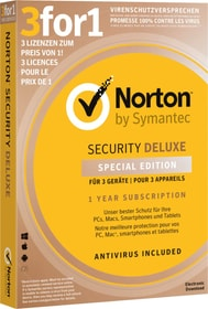Security Deluxe 3.0 3for1 Device Edition Physique (Box) Norton 785300139254 Photo no. 1
