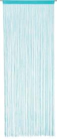 LUNA Fadenvorhang 430281630341 Farbe Hellblau Grösse B: 90.0 cm x H: 245.0 cm Bild Nr. 1
