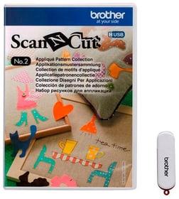 Design ScanNCut Nr. 2 schémas d'application Brother 785300142659 Photo no. 1
