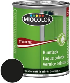 Synthetic Vernice colorata opaca Nero 375 ml Miocolor 661439400000 Colore Nero Contenuto 375.0 ml N. figura 1